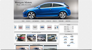 websites templates for car dealers