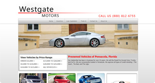adaptive templates gallery for car dealers