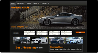 car dealer website gallery