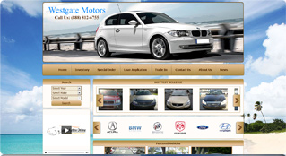automotive websites gallery